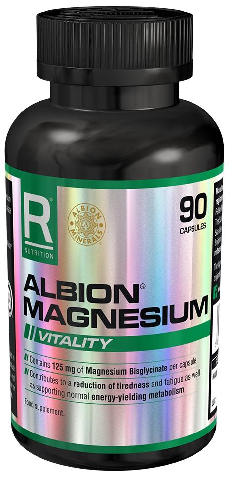 Albion Magnesium 125mg 90 kapslí - Reflex