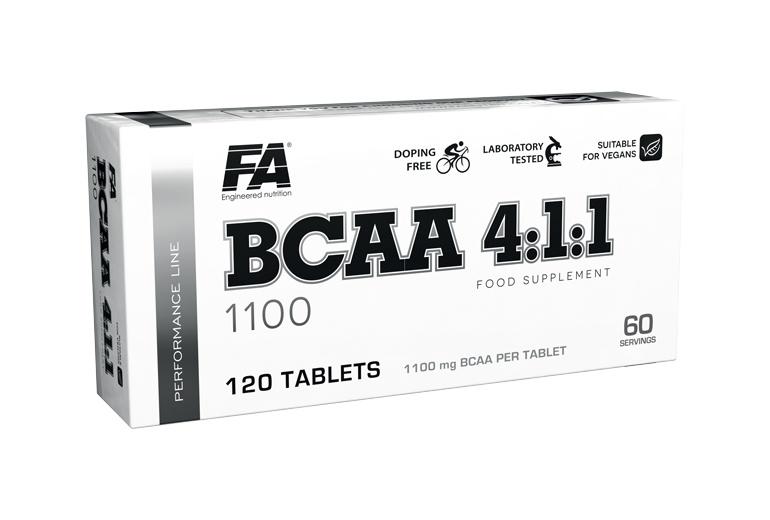 BCAA 4:1:1 120tbl - Fitness Authority