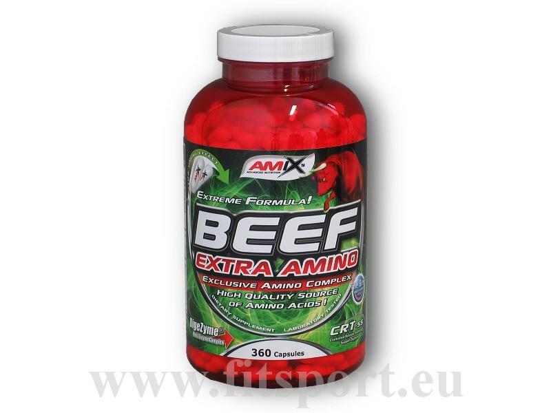 Beef Extra Amino 360 kapslí - Amix