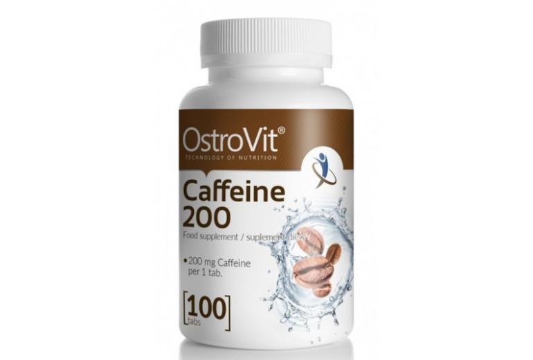 Caffeine 200 100 tablet OstroVit