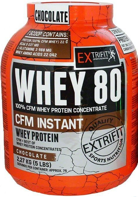 CFM Instant Whey 80 2270g - Extrifit cookie