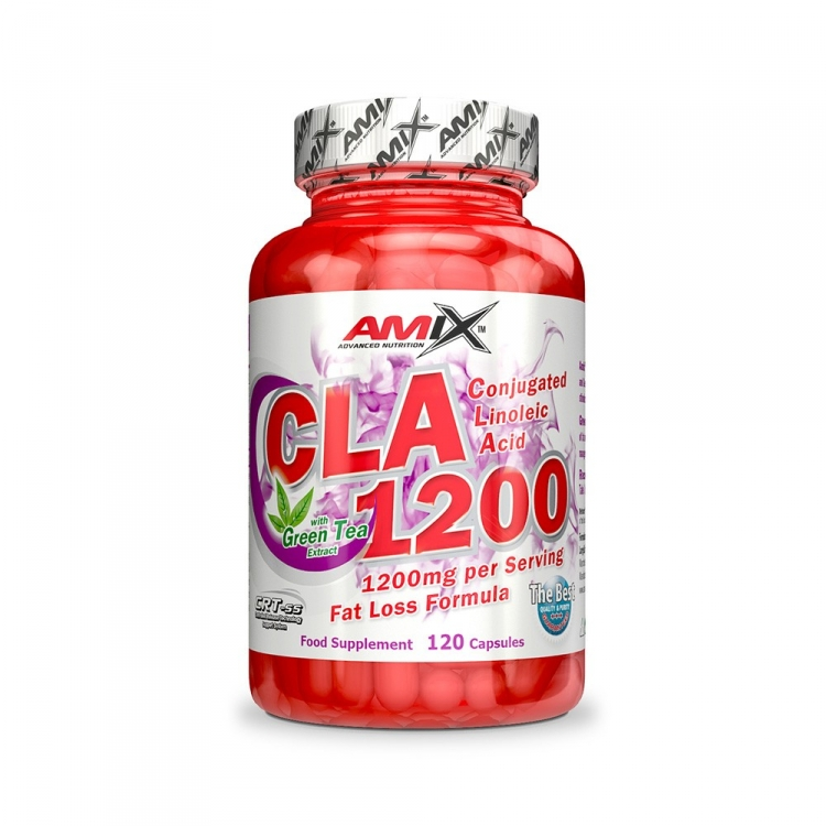 CLA 1200 + Green Tea 120 kapslí - Amix