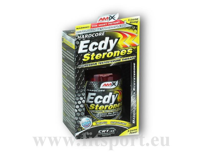 Ecdy Sterones 90 kapslí - Amix