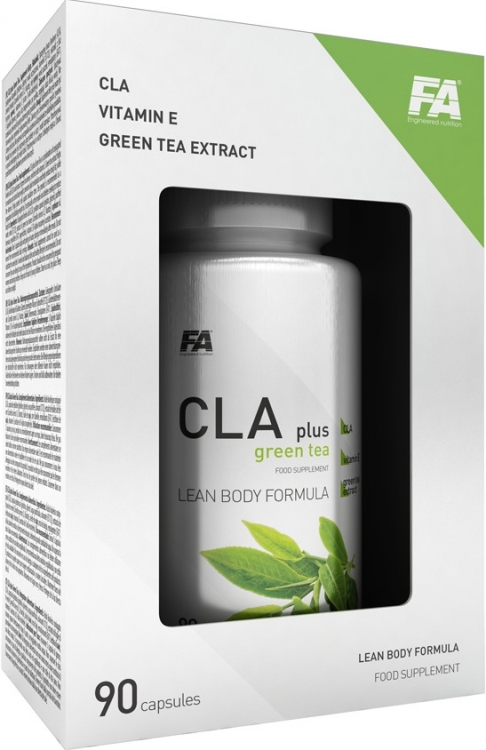 Fitness Authority CLA plus GREEN TEA 90 kapslí