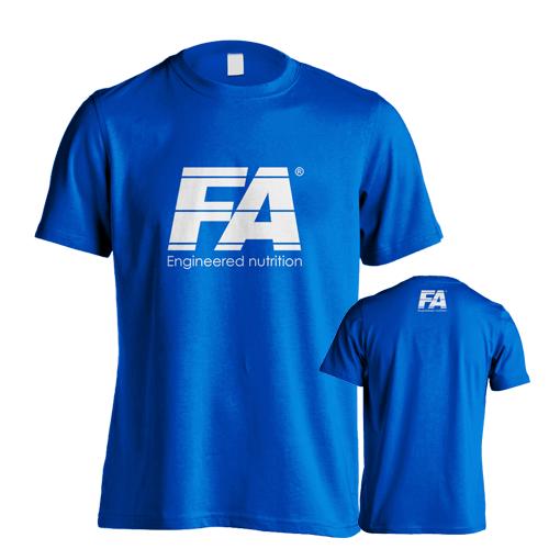 Fitness Authority pánské tričko FA Team Blue
