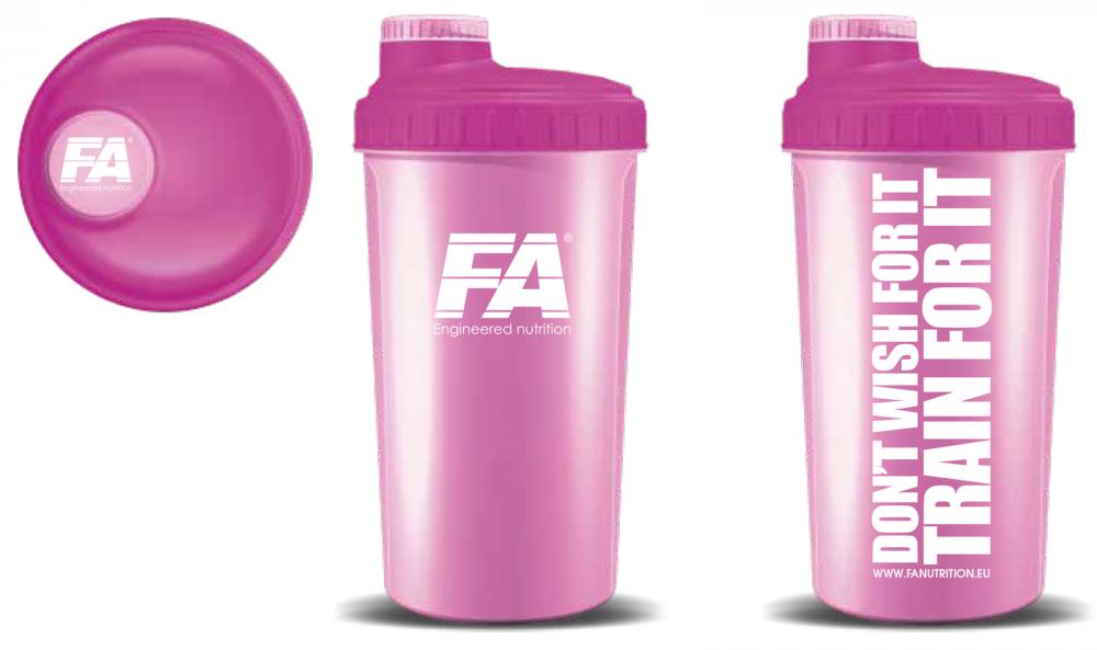 Fitness Authority Shaker 700 ml růžový