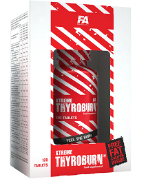 Fitness Authority Xtreme Thyroburn 120 tablet