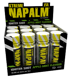 Fitness Authority Xtreme Napalm Shot 20x60 ml
