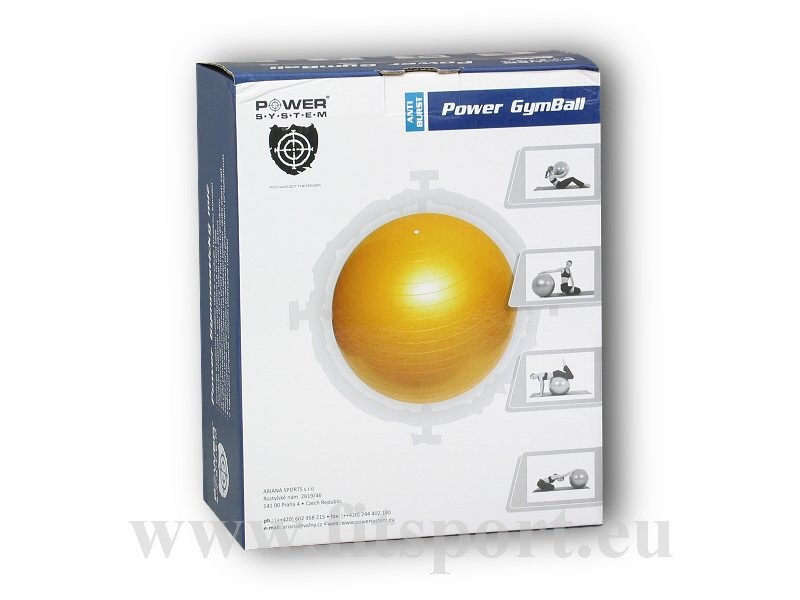 Gymnastický míč Power Gymball 85cm - Ariana