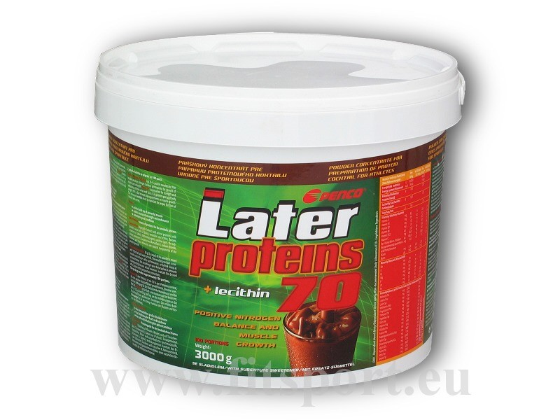 Later Proteins 70% 3000g - Penco čokoláda