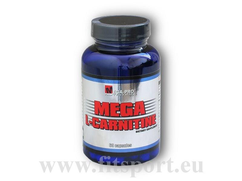 Mega L - Carnitine 60 kapslí - Mega Pro Nutrition