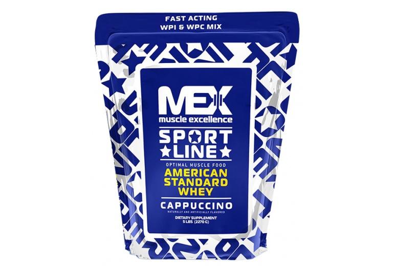 MEX Nutrition American Standard Whey Protein 2200 g