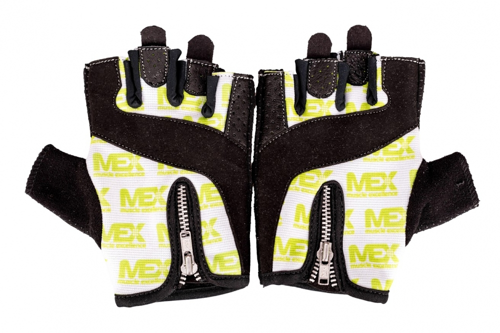 MEX Nutrition rukavice ZIP GREEN