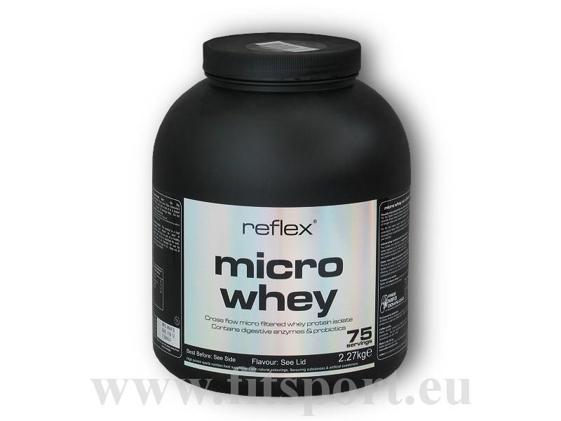 Micro Whey Native 2270g - Reflex Nutrition