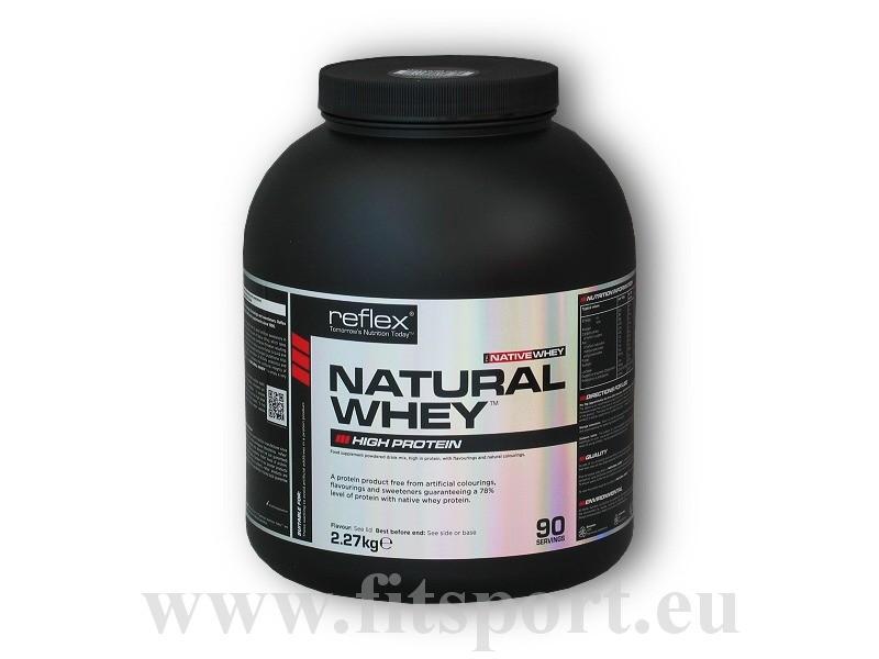 Natural Whey 2270g - Reflex Nutrition čokoláda