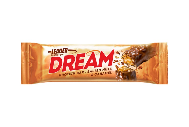 Protein Bar DREAM 24x45g Leader Nutrition