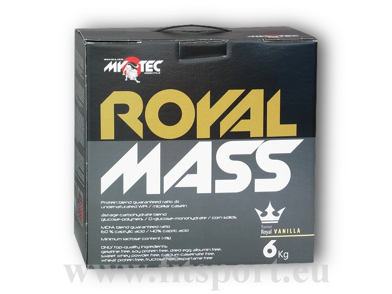 Royal Mass 6kg - Myotec čokoláda