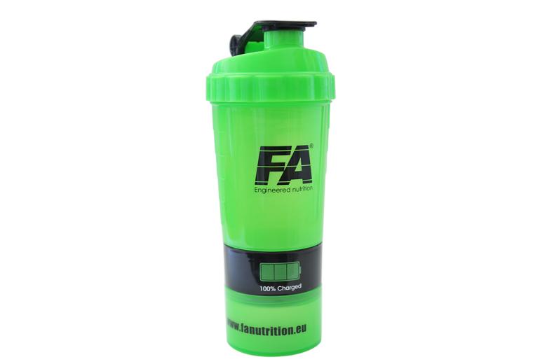 Smart Shaker 500ml-zelený Fitness Authority
