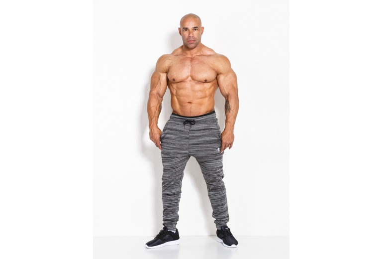 Sweatpants 01 LM Tabbis Grey Kevin Levrone