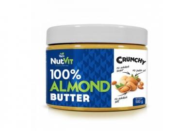 100% Almond Butter 500g NutVit