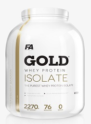 Fitness Authority Gold Whey Isolate 2270 g