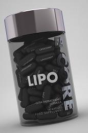 Fitness Authority Lipo Core 90 kapslí