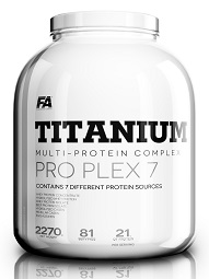 Fitness Authority Titanium Pro Plex 5 2000 g