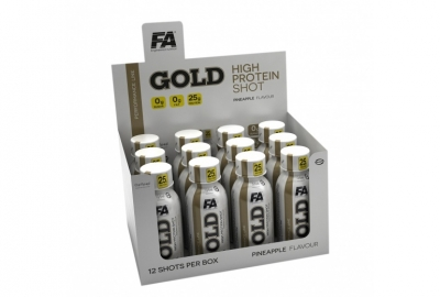 GOLD High Protein Shot 12x120ml Fitness Authority