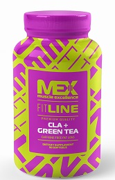 MEX Nutrition CLA + GREEN TEA 90 kapslí