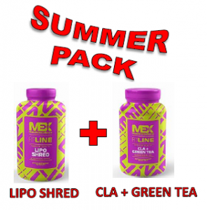 MEX Nutrition Lipo Shred 120 kapslí + CLA plus GREEN TEA 90 kapslí