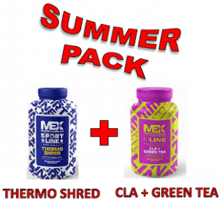 MEX Nutrition Thermo Shred 180 kapslí + CLA plus GREEN TEA 90 kapslí