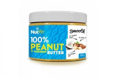 Peanut Butter + Coconut 500g NutVit