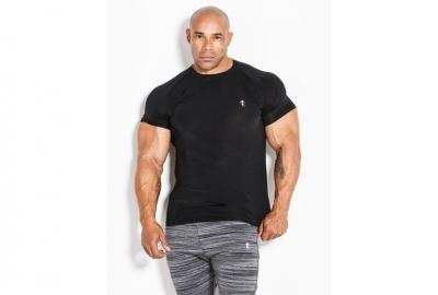 T-shirt 01 LM Compression Black Kevin Levrone