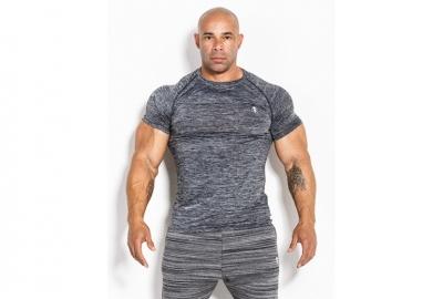 T-shirt 01 LM Compression Dark Grey Kevin Levrone