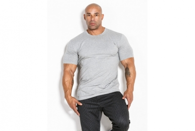 T-shirt 03 LM Classic Light Grey Kevin Levrone