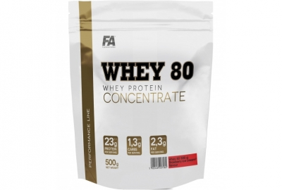 Whey Protein 80 500g Fitness Authority