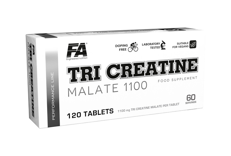 Tri Creatine Malate 1100 120 tablet Fitness Authority