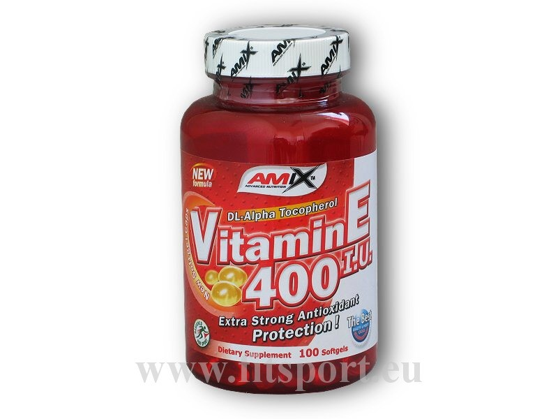Vitamin E 400IU 100 softgels - Amix