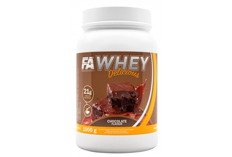 Whey Delicious 1000g Fitness Authority